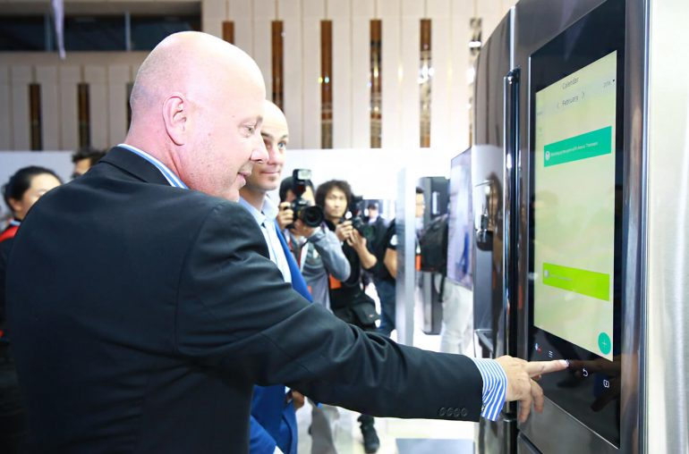 Samsung Smart Home exhibition