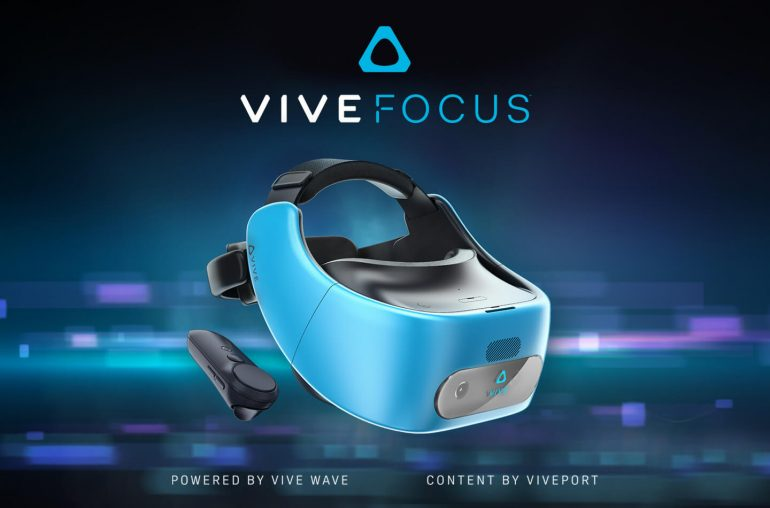 HTC Vive Focus VR headset