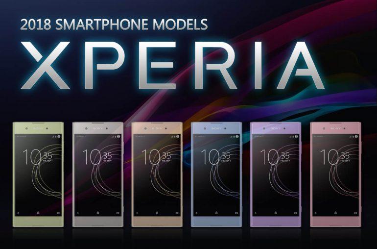 New Sony Xperia smartphones