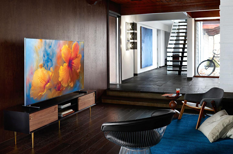 samsung qled 2018 series offer enhanced contrast letsgodigital. Black Bedroom Furniture Sets. Home Design Ideas