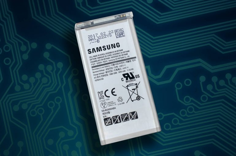 Samsung smartphone battery