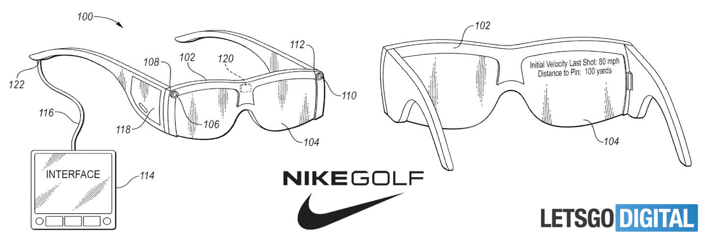 c48685cdc2 The smart eyewear displays the launch and flight characteristics  contemporaneous with an object indication of the moving game ball