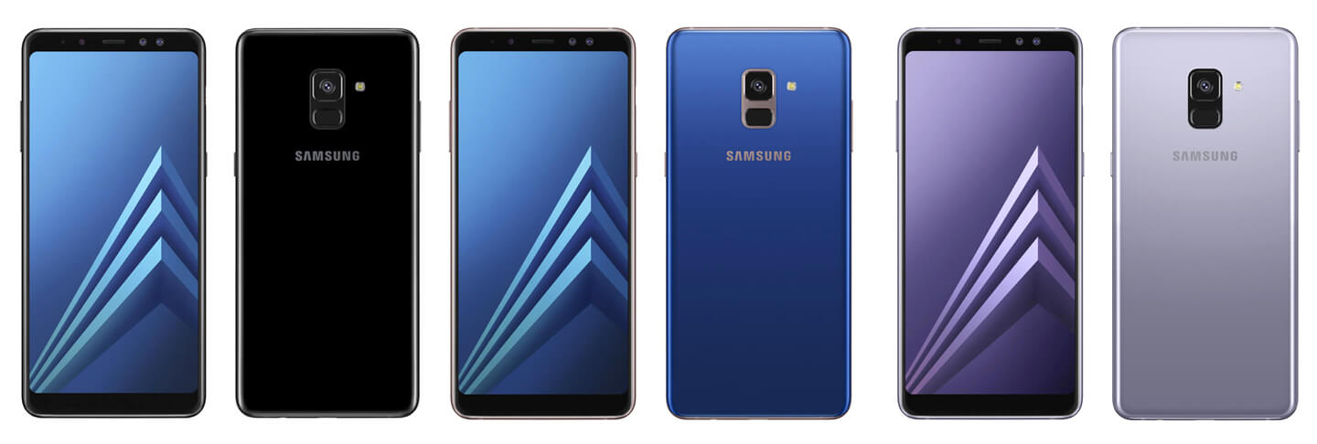 Samsung launches 2018 Galaxy A8 mid-range smartphone ...