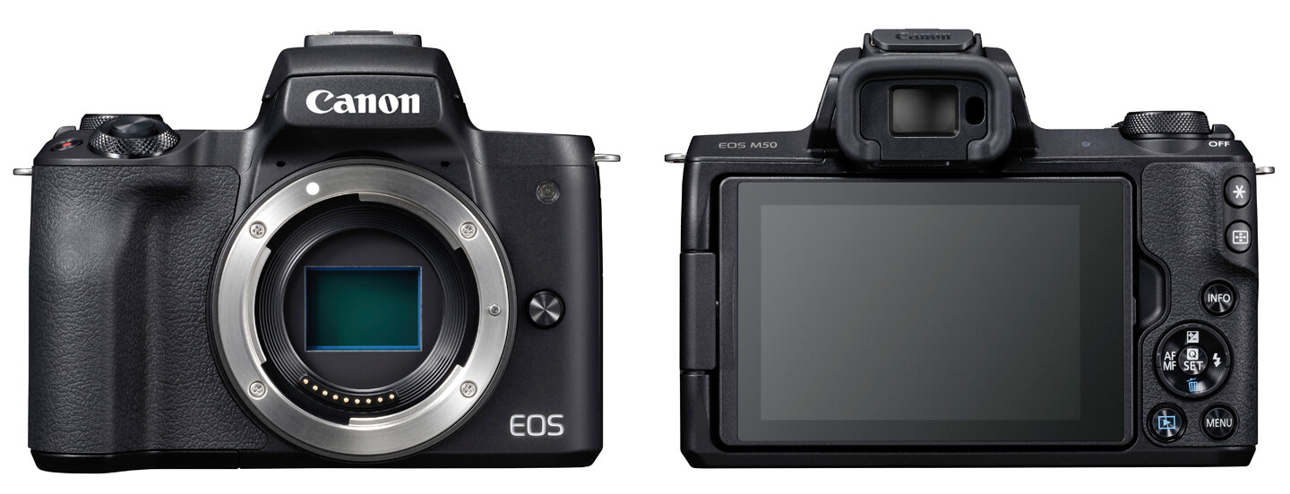 Canon EOS M50 digital camera