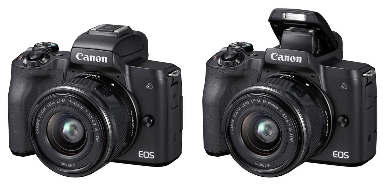 M50 mirrorless camera