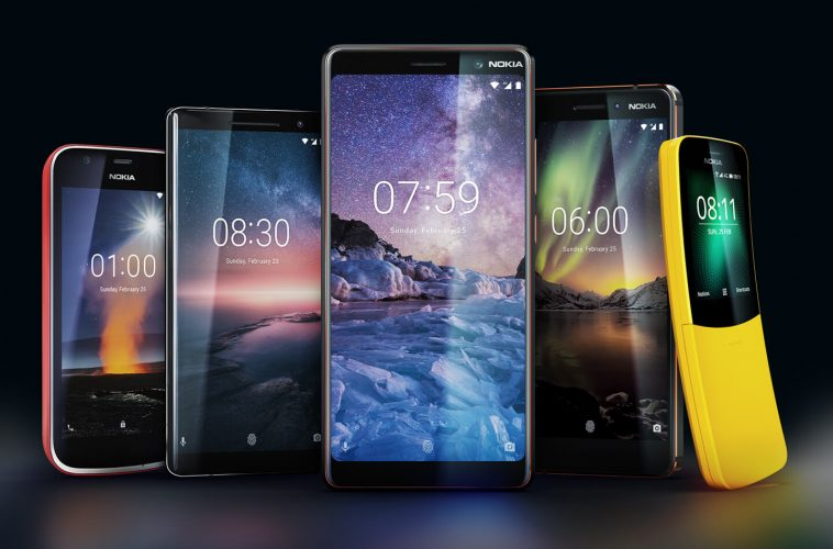 Nokia mobile phones 2018