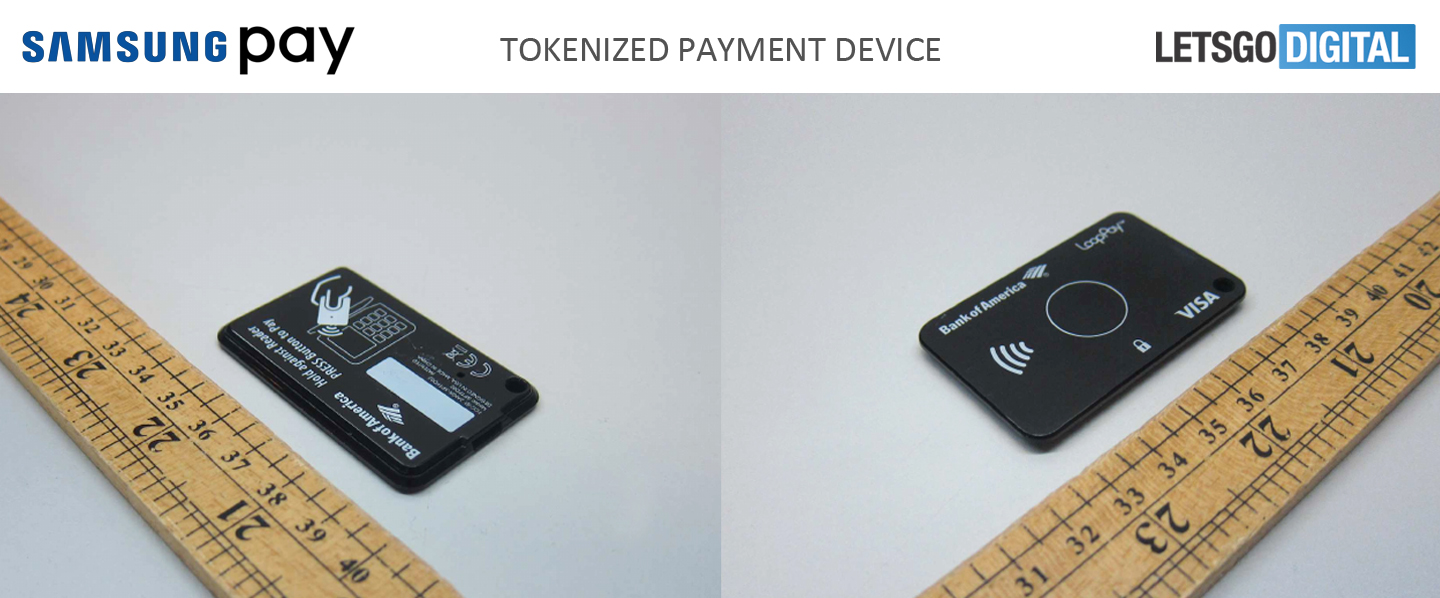 Samsung Tokenized Payment Device