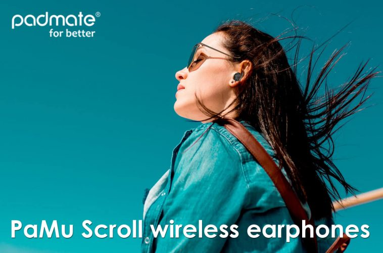 Padmate wireless earphones
