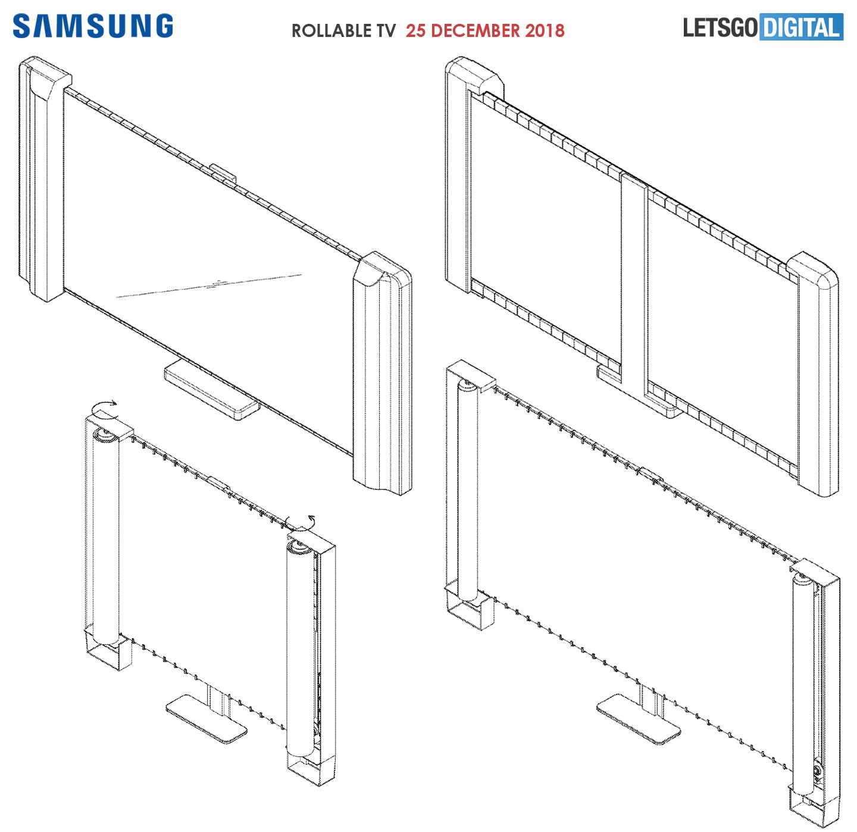 Samsung rollable display