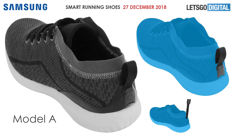 Samsung smart running shoes
