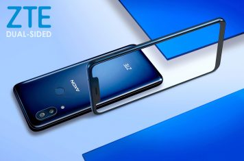 ZTE dual-sided smartphone