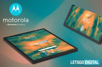 Foldable smartphone Motorola