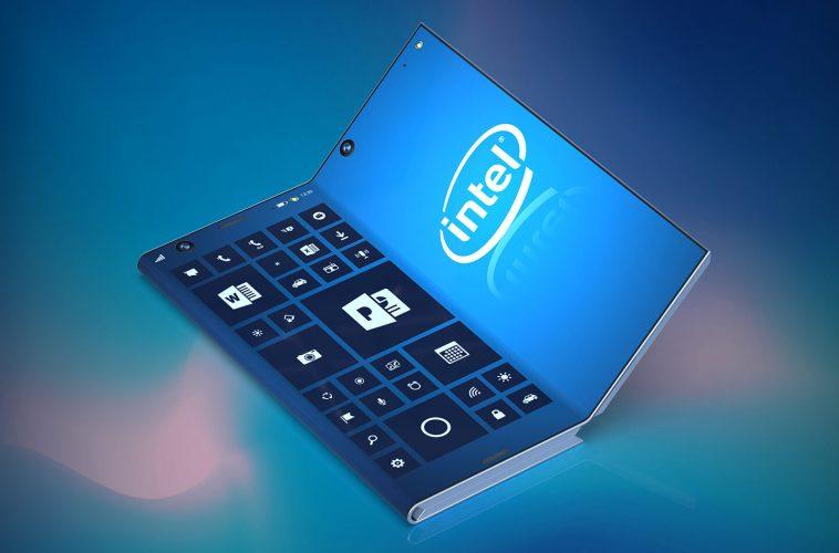 Intel foldable smartphone