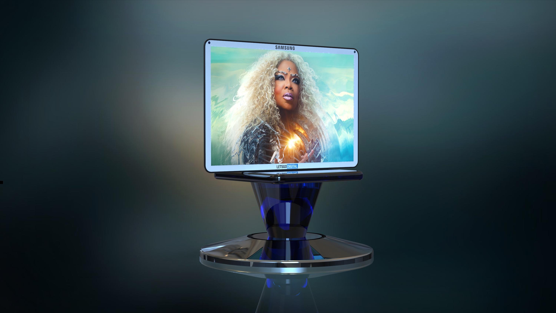 Samsung 3D display device   LetsGoDigital