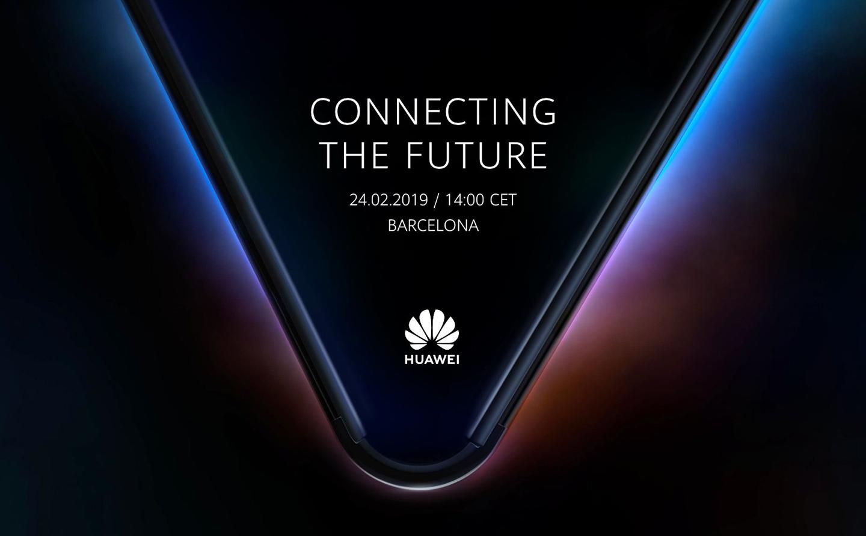 Huawei foldable smartphone MWC 2019