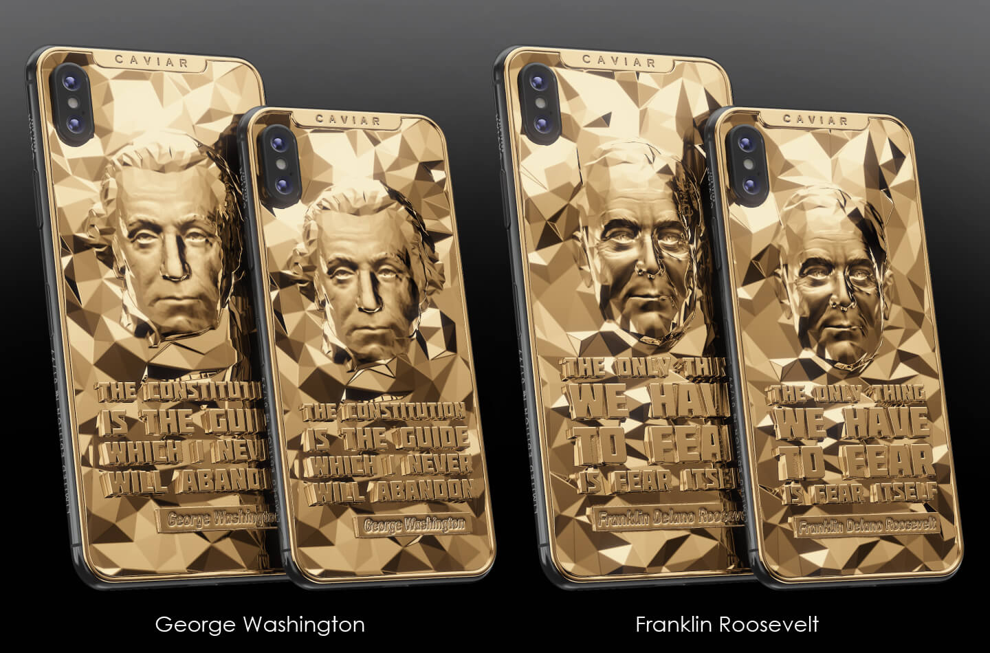 iPhone Presidents Collection Caviar