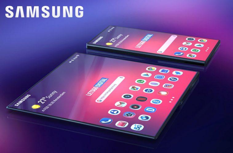 Samsung Galaxy foldable smartphone