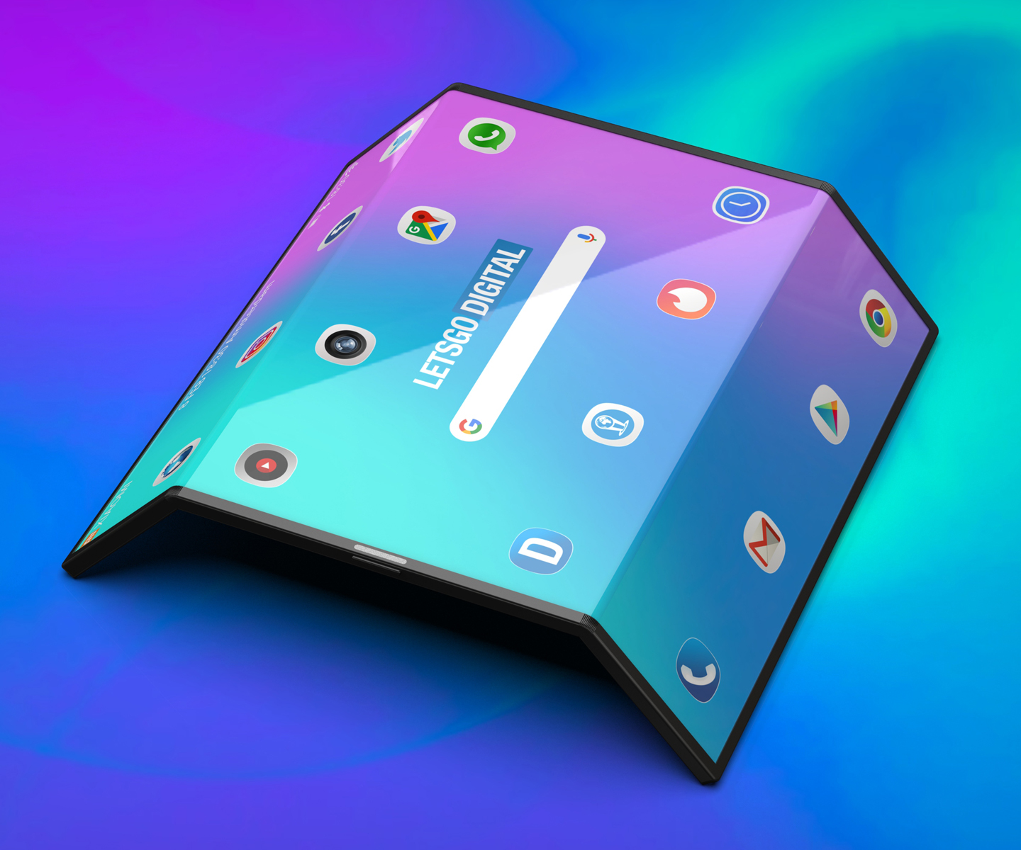 Xiaomi foldable smartphone unfolds into a tablet device