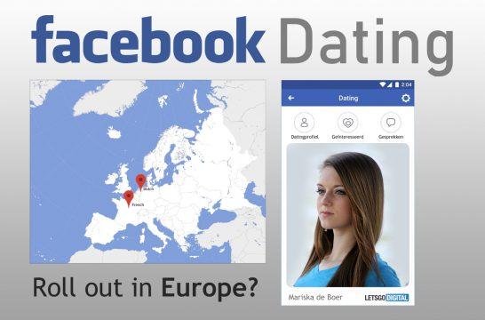 Facebook Dating App Europe