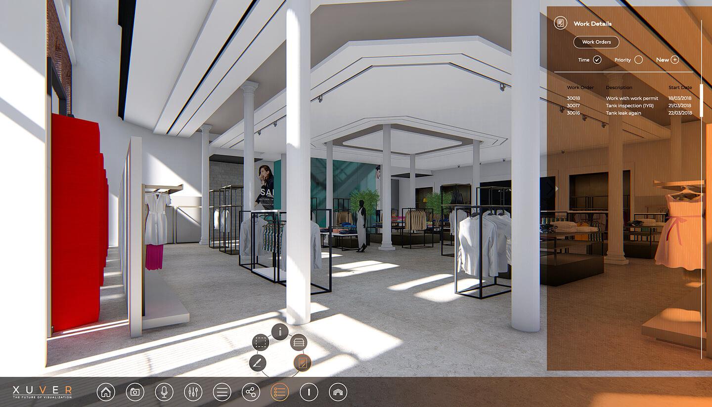 Interactive 3D viewer