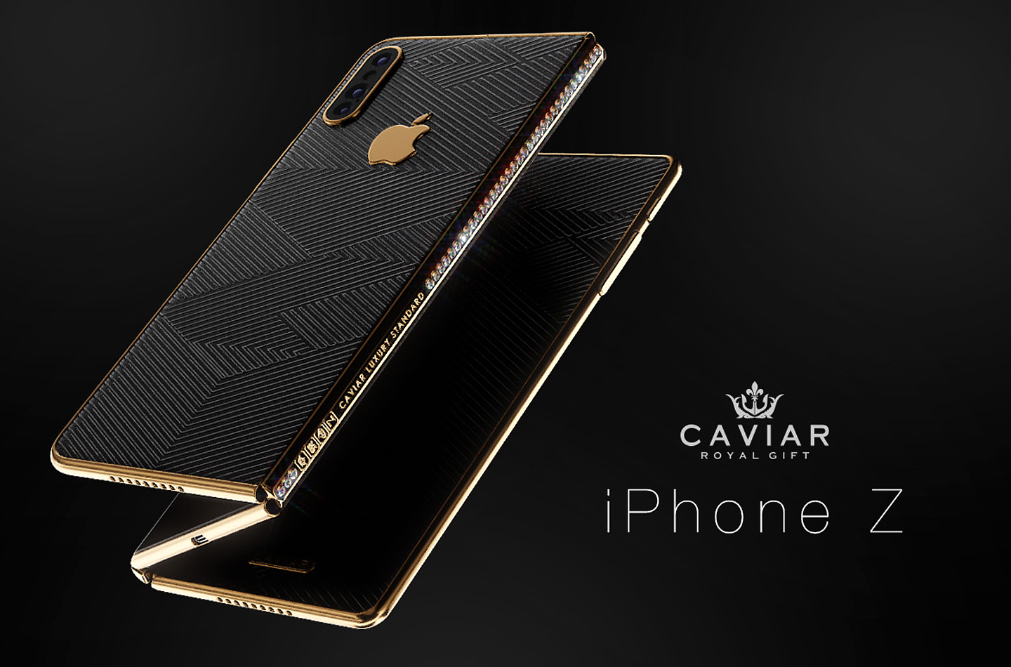 Foldable iPhone: Exclusive folding smartphone from Caviar ...