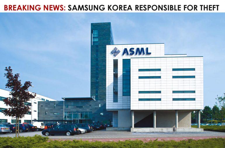 Samsung Korea ASML