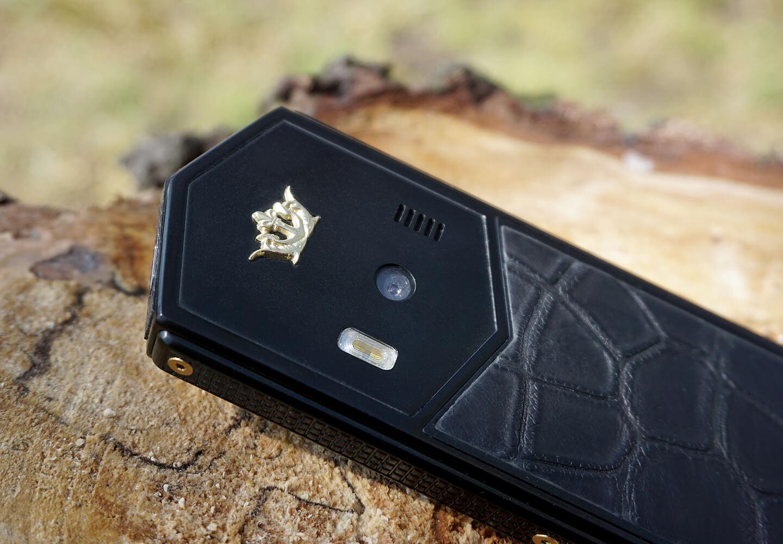 Titanium phone