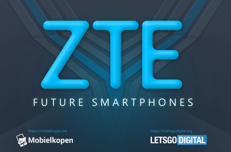 ZTE dual-sided phone