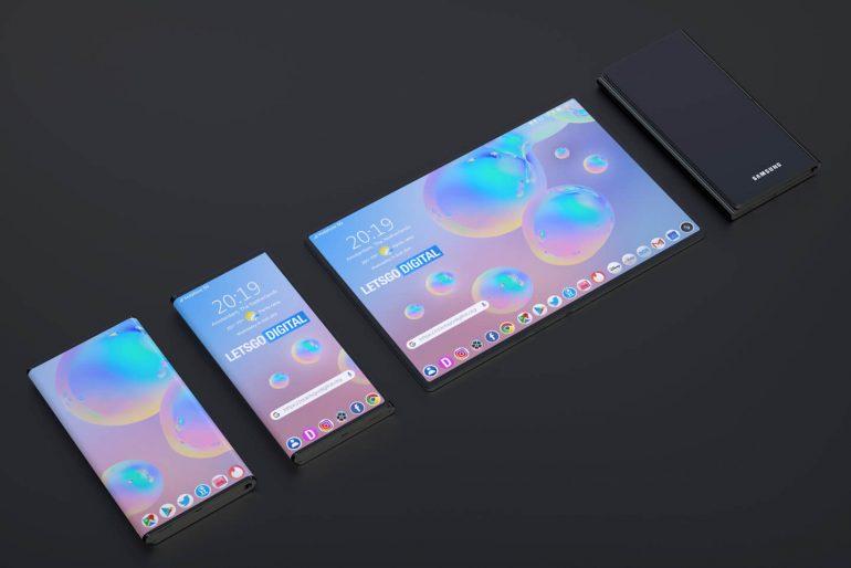 Katlanabilir telefonlar Samsung