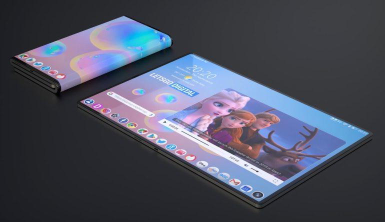 Samsung katlanabilir cihaz