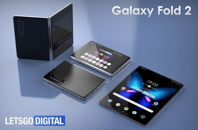 Samsung Galaxy Fold 2 foldable smartphone