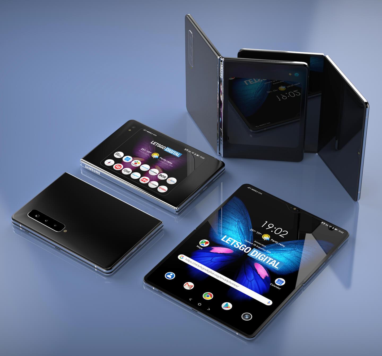 Samsung smartphone foldable
