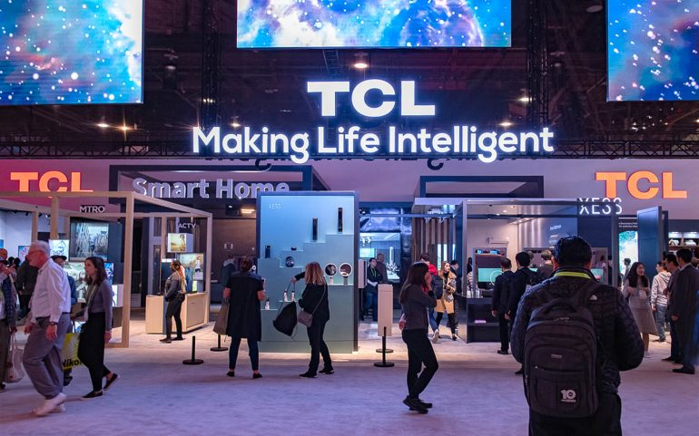 TCL foldable smartphones
