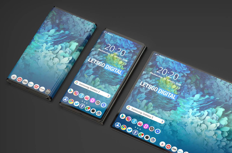 Foldable smartphones 2020