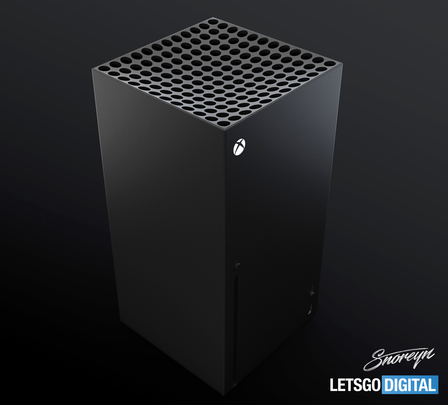Xbox Series X 8K game console in 3D video | LetsGoDigital