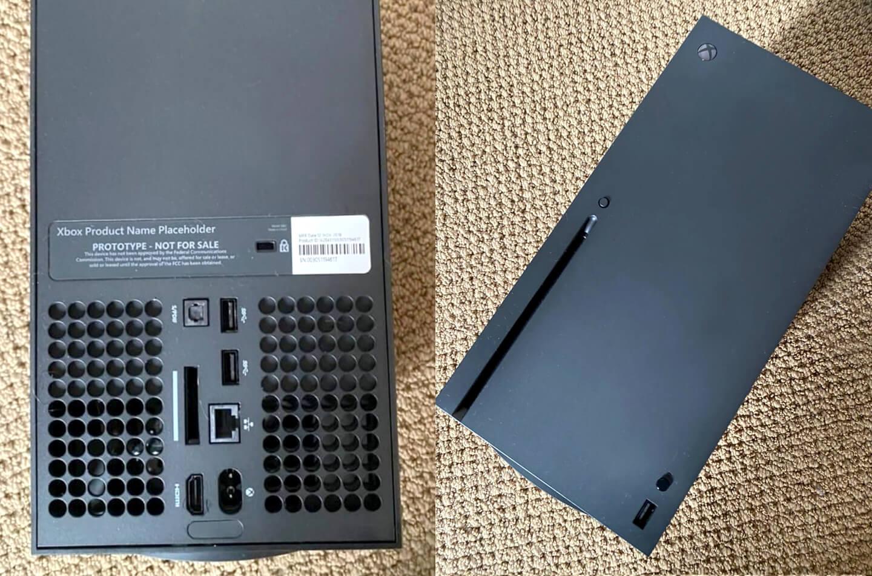 Photos prototype console