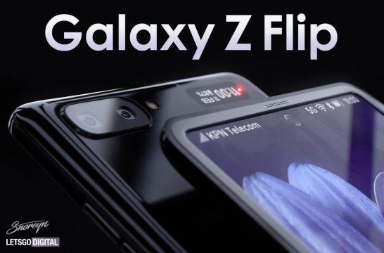 Samsung Galaxy Z Flip foldable smartphone