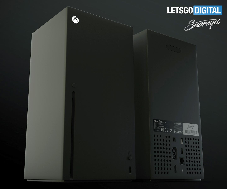 Xbox Series X 8k Game Console In 3d Video Letsgodigital