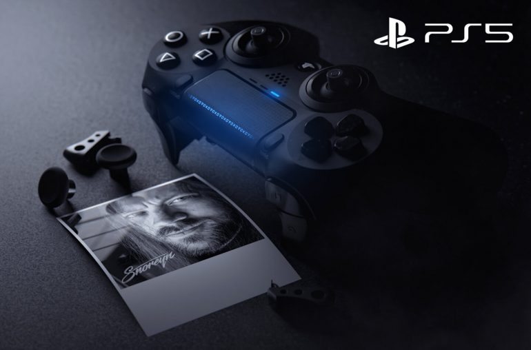 PlayStation 5 controller video