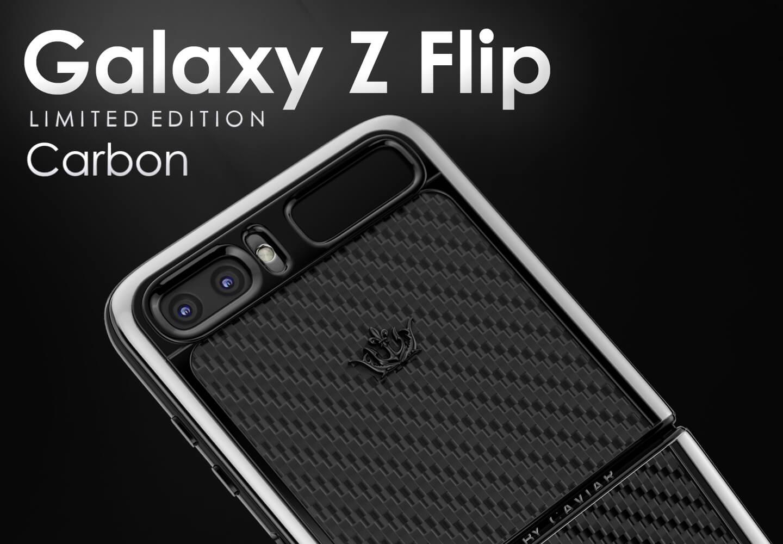 Samsung Galaxy Z Flip carbon