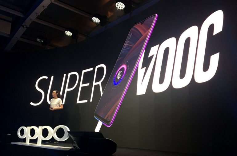 Oppo SuperVOOC Flash Charge technology
