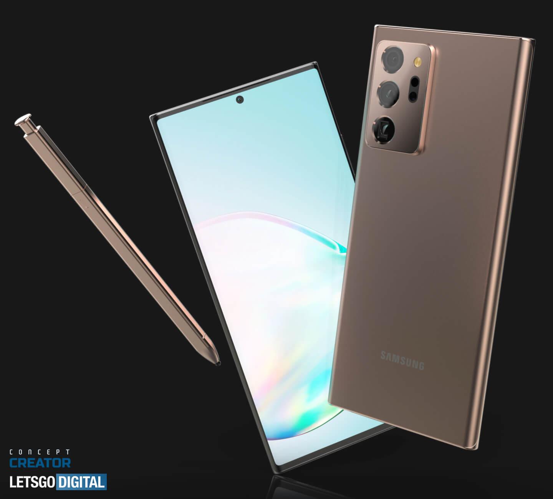 Samsung Note smartphone