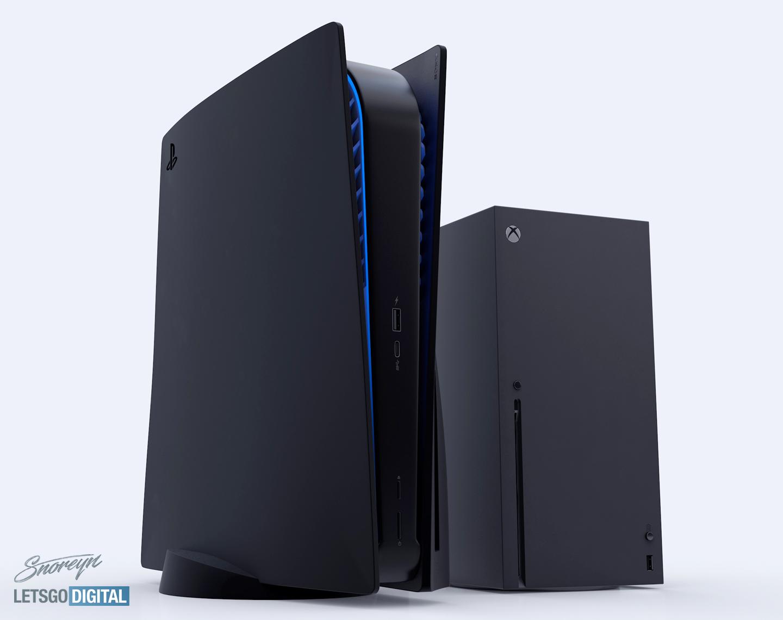 Playstation 5 Black Version With Cd And Ps5 Digital Edition Letsgodigital