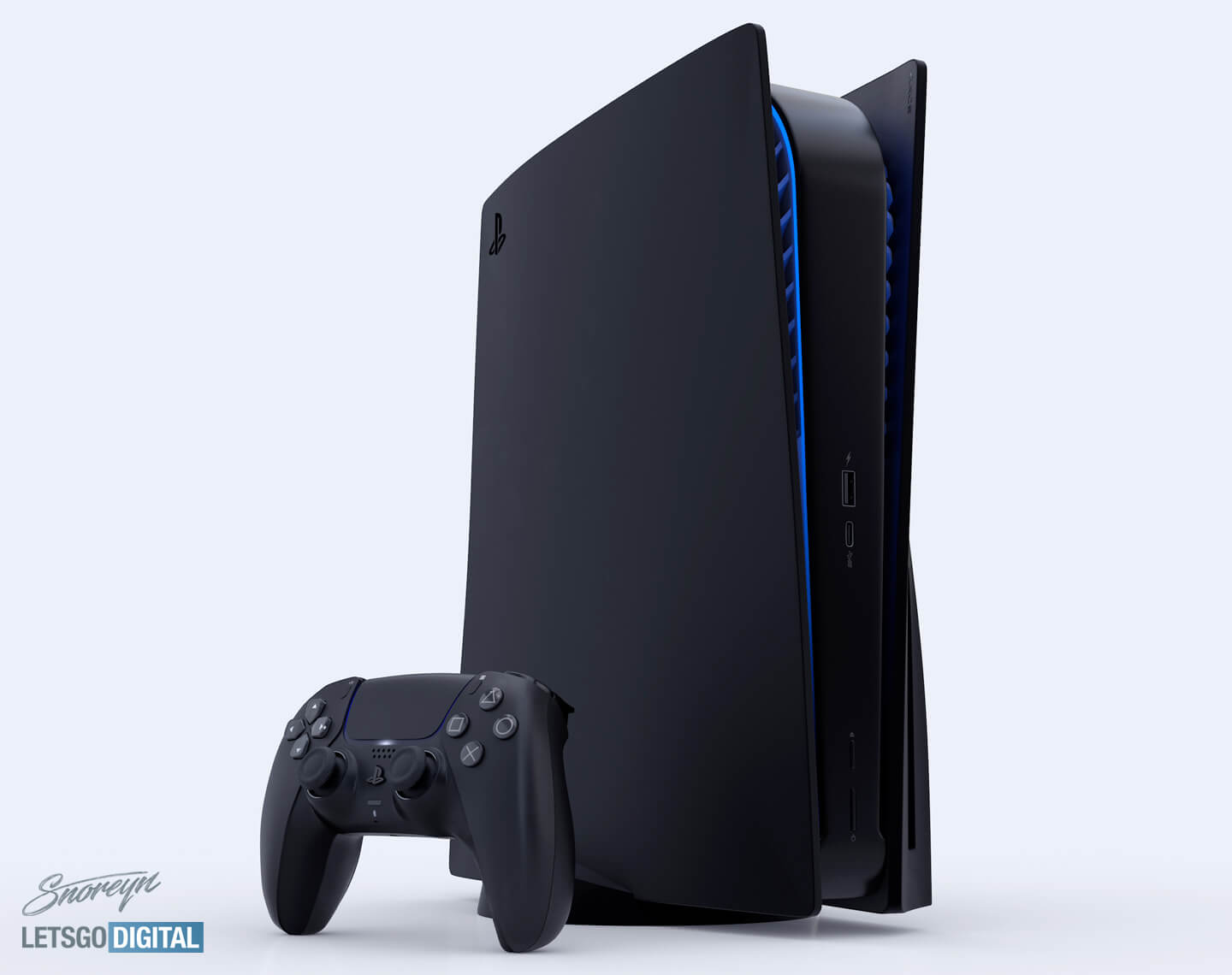 Playstation 5 Black Version With Cd And Ps5 Digital Edition Letsgodigital