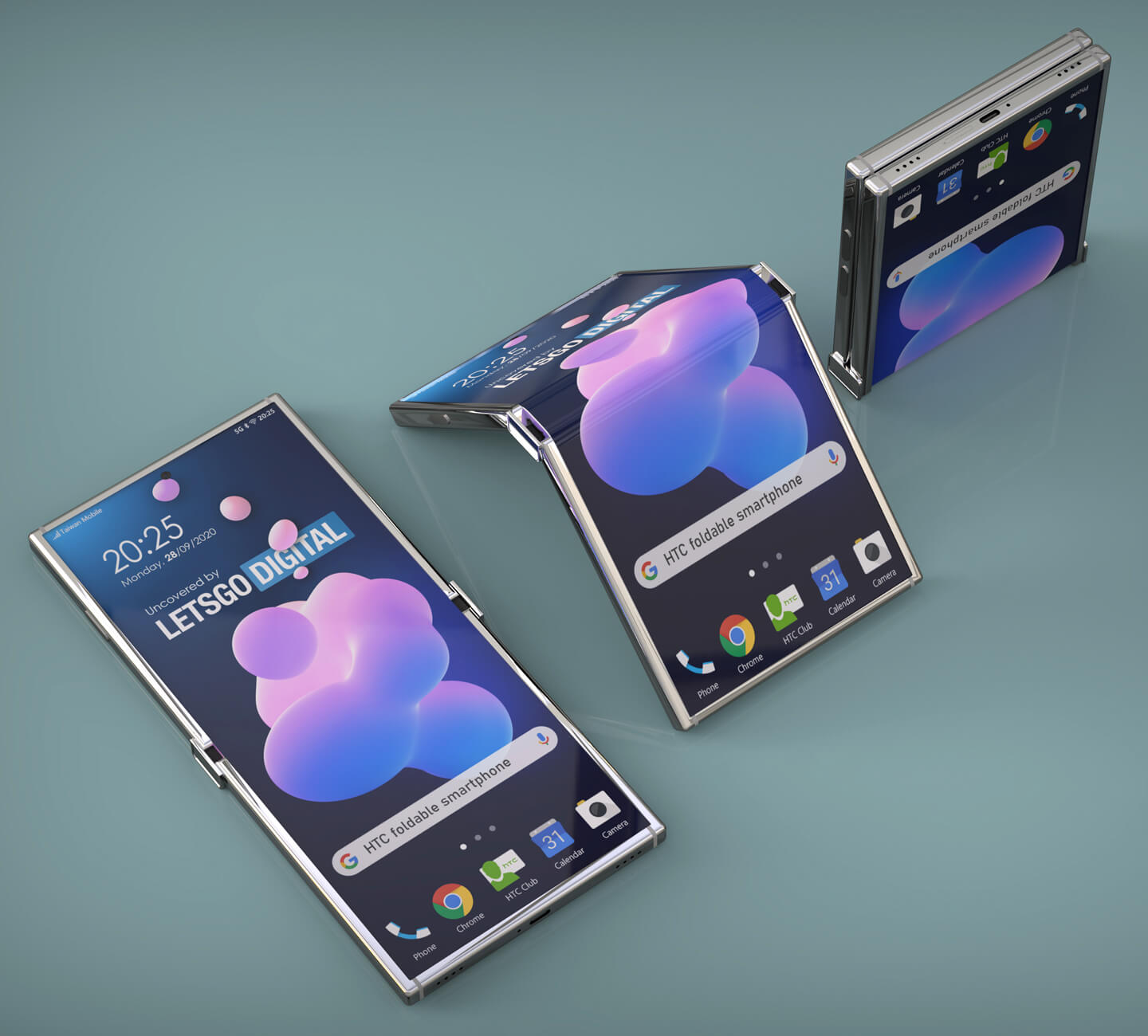 Foldable devices HTC mobile