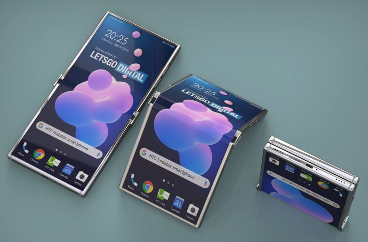 HTC foldable smartphone