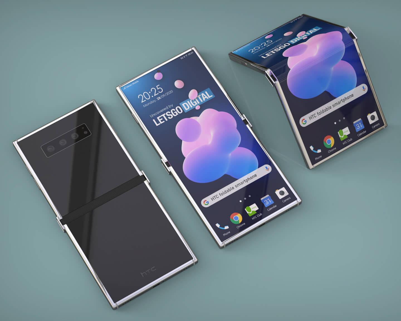 HTC folding smartphone