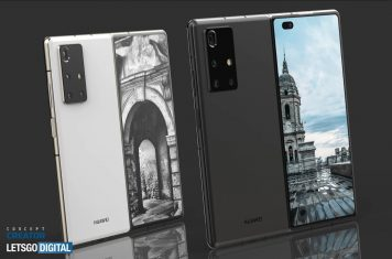 Huawei Mate X2 5G foldable phone