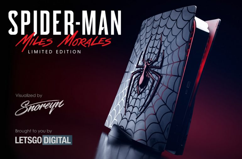 Playstation 5 Spider-man Limited edition console
