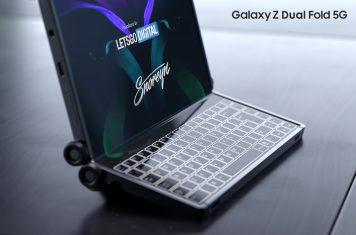 Samsung Galaxy Z Dual Fold 5G smartphone